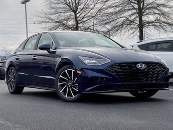 2021 Stormy Sea Hyundai Sonata Limited 4 Door 1.6L I4 Engine Car FWD Automatic