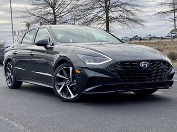 2021 Portofino Gray Hyundai Sonata SEL Plus I4 Engine FWD 4 Door Car Automatic