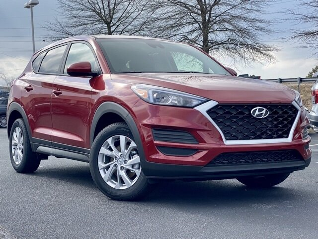 2021 Red Crimson Hyundai Tucson SE Automatic 4 Door SUV I4 Engine FWD
