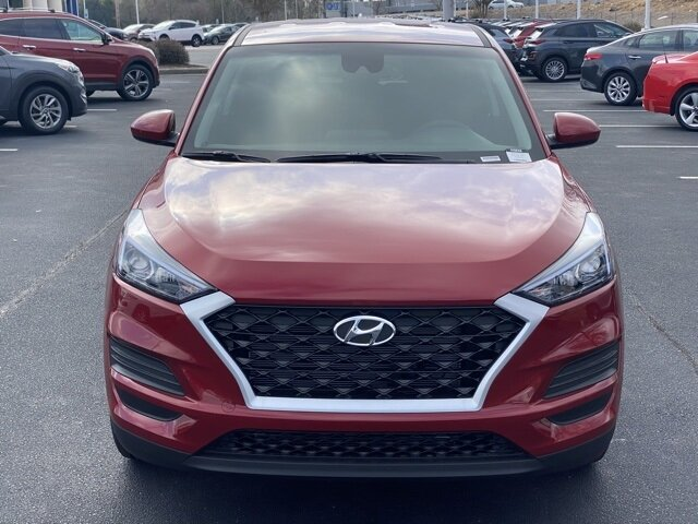 2021 Red Crimson Hyundai Tucson SE SUV Automatic I4 Engine