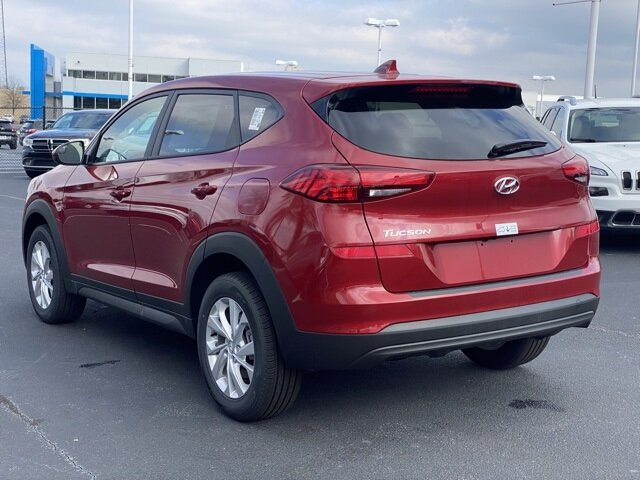 2021 Red Crimson Hyundai Tucson SE Automatic FWD I4 Engine 4 Door