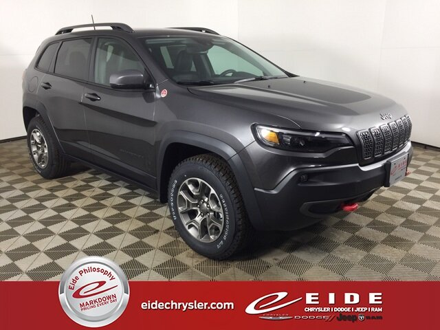 2021 Jeep Cherokee Trailhawk 4X4 4 Door Automatic SUV 3.2L V6 Engine