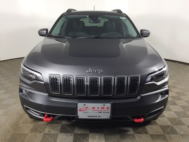 2021 Granite Crystal Metallic Clearcoat Jeep Cherokee Trailhawk Automatic 4X4 3.2L V6 Engine 4 Door