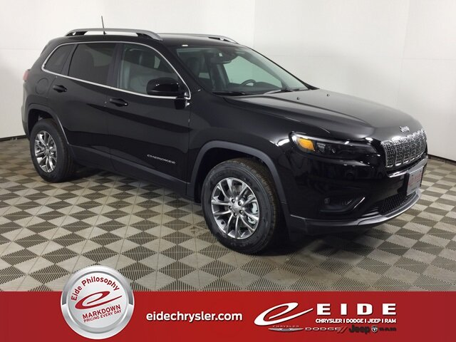 2021 Diamond Black Crystal Pearlcoat Jeep Cherokee Latitude Lux 3.2L V6 Engine Automatic 4 Door