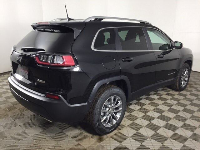 2021 Diamond Black Crystal Pearlcoat Jeep Cherokee Latitude Lux 4X4 3.2L V6 Engine 4 Door SUV