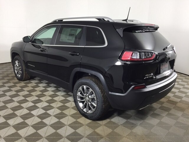 2021 Diamond Black Crystal Pearlcoat Jeep Cherokee Latitude Lux Automatic 3.2L V6 Engine SUV 4X4 4 Door