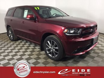 2017 Octane Red Pearlcoat Dodge Durango GT Automatic SUV 3.6L V6 24V VVT Engine AWD 4 Door