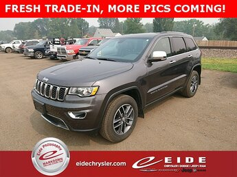 2018 Jeep Grand Cherokee Limited SUV 3.6L V6 24V VVT Engine 4X4