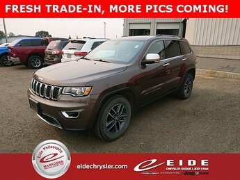 2018 Walnut Brown Metallic Clearcoat Jeep Grand Cherokee Limited 4X4 Automatic SUV 4 Door 3.6L V6 24V VVT Engine