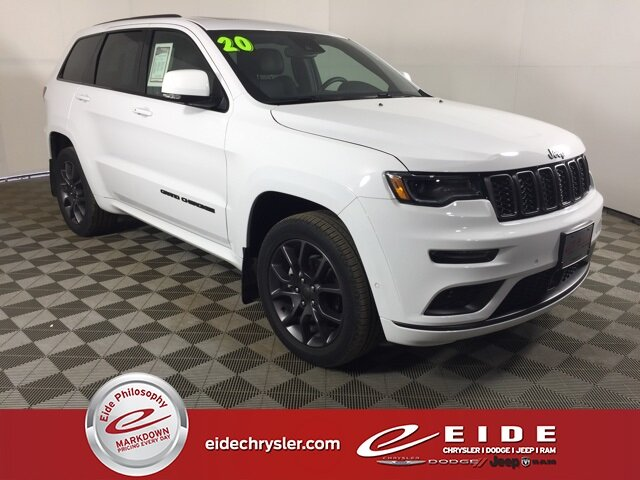 2020 Bright White Clearcoat Jeep Grand Cherokee High Altitude SUV 4 Door 3.6L V6 24V VVT Engine Automatic 4X4