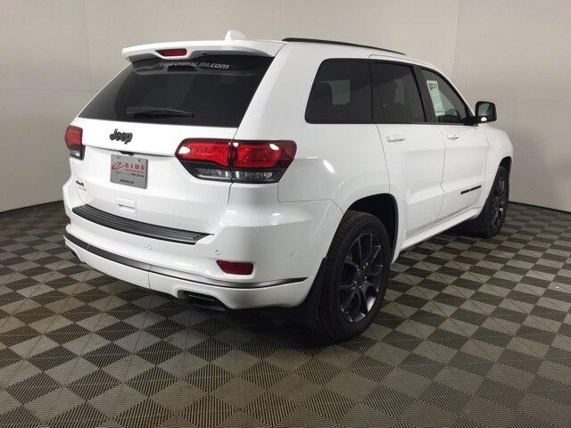 2020 Bright White Clearcoat Jeep Grand Cherokee High Altitude Automatic 4 Door 3.6L V6 24V VVT Engine 4X4