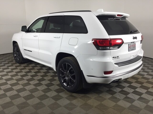 2020 Bright White Clearcoat Jeep Grand Cherokee High Altitude 4X4 Automatic 3.6L V6 24V VVT Engine 4 Door SUV