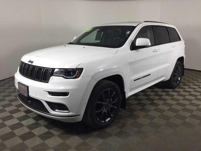 2020 Bright White Clearcoat Jeep Grand Cherokee High Altitude Automatic 4 Door 4X4 3.6L V6 24V VVT Engine SUV