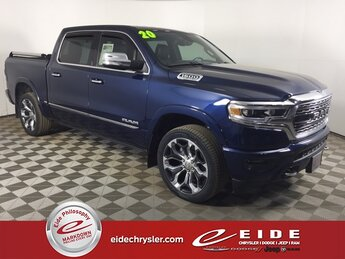 2020 Ram 1500 Limited 4 Door Truck 4X4 HEMI 5.7L V8 Multi Displacement VVT eTorque Engine Automatic