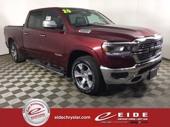 2020 Ram 1500 Laramie 4 Door 4X4 HEMI 5.7L V8 Multi Displacement VVT eTorque Engine