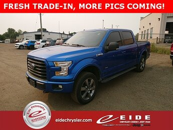 2016 Blue Flame Metallic Ford F-150 XLT 4 Door Automatic 4X4 Truck