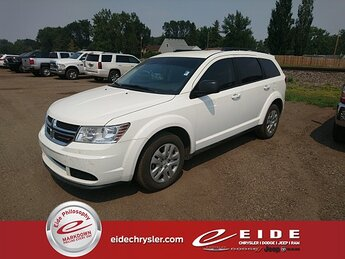 2020 Vice White Dodge Journey SE SUV 4 Door Automatic FWD 2.4L I4 DOHC 16V Dual VVT Engine