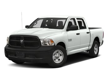 2017 Bright White Clearcoat Ram 1500 Express 4 Door Truck 4X4
