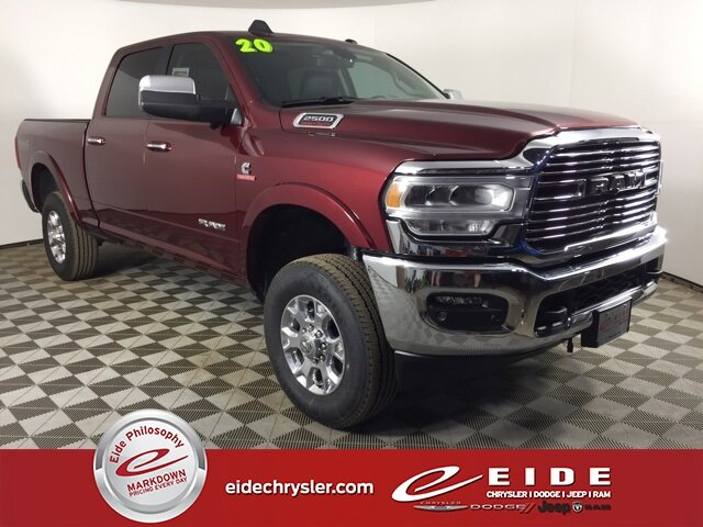 2020 Ram 2500 Laramie 4 Door Truck Cummins 6.7L I6 Turbodiesel Engine