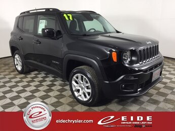 2017 Black Jeep Renegade Latitude 4X4 2.4L I4 MultiAir Engine SUV 4 Door Automatic