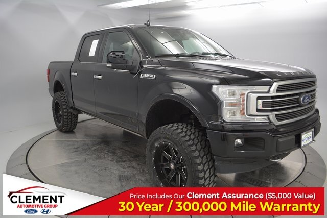 2018 Shadow Black Ford F-150 Limited 4X4 EcoBoost 3.5L V6 GTDi DOHC 24V Twin Turbocharged Engine Automatic Truck 4 Door