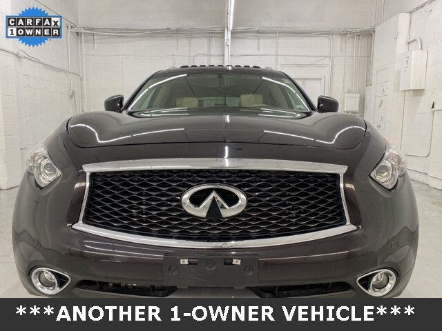 2017 Midnight Mocha INFINITI QX70 Base AWD 4 Door 3.7L V6 Engine