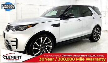 2017 Indus Silver Metallic Land Rover Discovery HSE Luxury V6 Supercharged Engine 4X4 Automatic SUV 4 Door