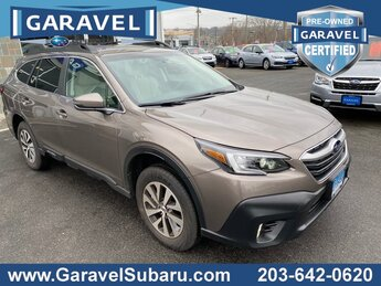 2021 Brilliant Bronze Metallic Subaru Outback Premium 2.5L 4-Cylinder DOHC 16V Engine SUV Automatic (CVT) AWD 4 Door