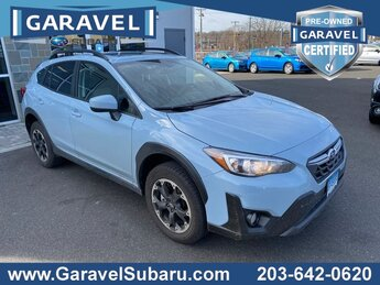 2021 Cool Gray Khaki Subaru Crosstrek Premium SUV Automatic (CVT) 4 Door 2.0L DOHC Engine