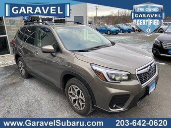 2021 Sepia Bronze Metallic Subaru Forester Premium 4 Door AWD Automatic H-4 cyl Engine