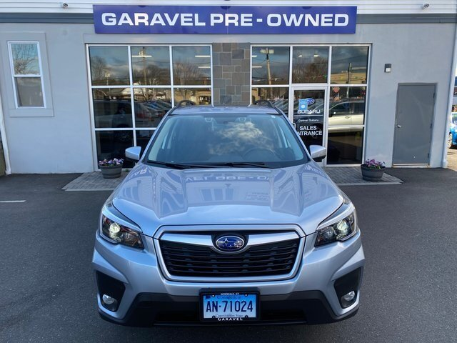 2021 Ice Silver Metallic Subaru Forester Premium 4 Door AWD Automatic SUV