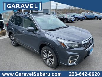 2021 Magnetite Gray Metallic Subaru Forester Limited AWD H-4 cyl Engine Automatic SUV