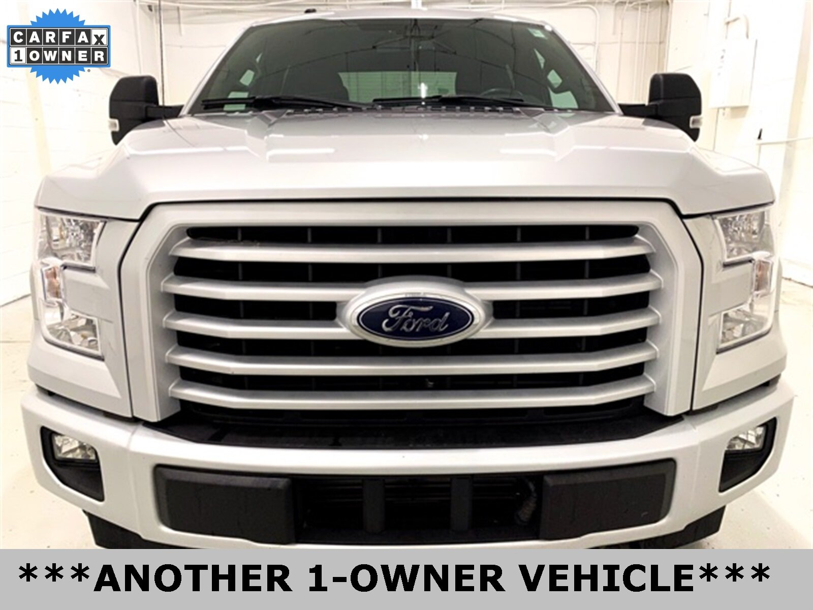 2017 Ingot Silver Metallic Ford F-150 XLT Automatic EcoBoost 3.5L V6 GTDi DOHC 24V Twin Turbocharged Engine 4 Door