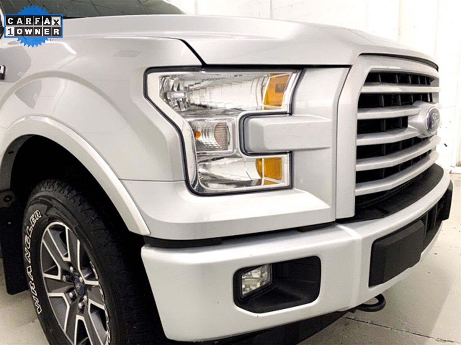 2017 Ingot Silver Metallic Ford F-150 XLT Automatic Truck 4 Door EcoBoost 3.5L V6 GTDi DOHC 24V Twin Turbocharged Engine