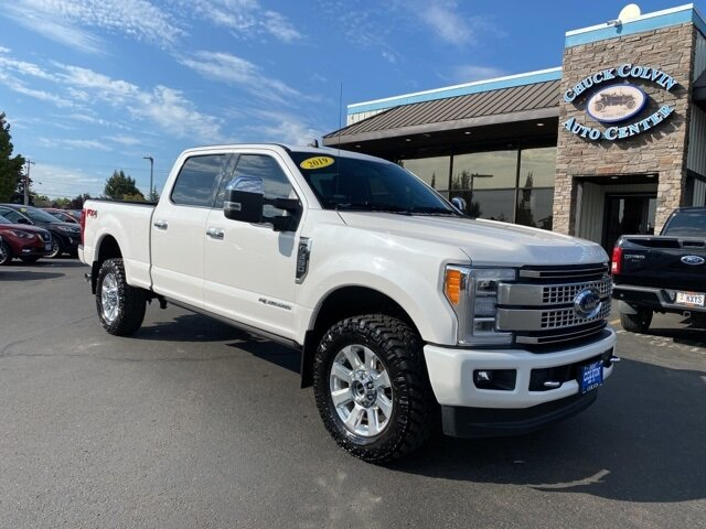 2019 Ford Super Duty F-350 SRW Platinum 4 Door Automatic Power Stroke 6.7L V8 DI 32V OHV Turbodiesel Engine Truck 4X4