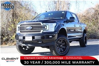 2018 Shadow Black Ford F-150 Limited 4X4 Truck 4 Door Automatic 3.5L V6 Engine