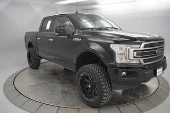 2018 Shadow Black Ford F-150 Limited Automatic 4 Door Truck EcoBoost 3.5L V6 GTDi DOHC 24V Twin Turbocharged Engine 4X4