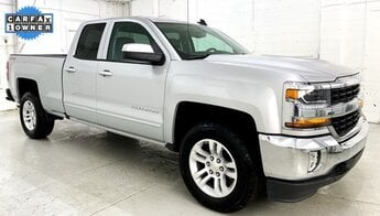 2017 Silver Ice Metallic Chevrolet Silverado 1500 LT Automatic 4 Door EcoTec3 5.3L V8 Engine Truck 4X4
