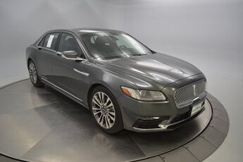 2017 Chroma Caviar Dark Gray Premium Met (Chromoflare) Lincoln Continental Reserve 2.7L GTDI V6 Engine 4 Door FWD Automatic Car