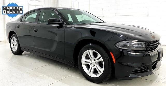 2019 Pitch Black Clearcoat Dodge Charger SXT 4 Door 3.6L 6-Cylinder SMPI DOHC Engine Automatic Car