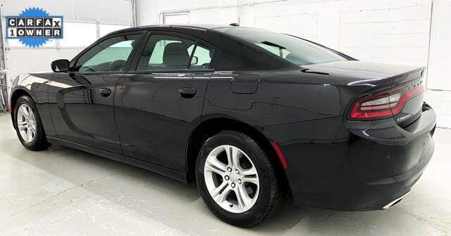 2019 Pitch Black Clearcoat Dodge Charger SXT RWD 3.6L 6-Cylinder SMPI DOHC Engine 4 Door Car Automatic