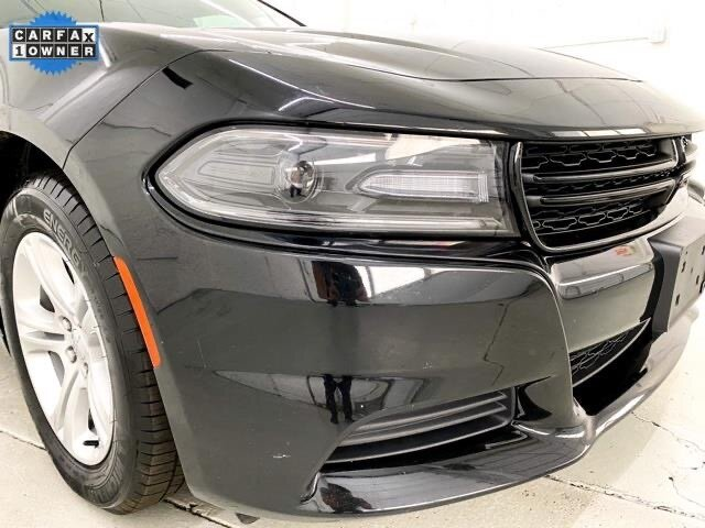 2019 Pitch Black Clearcoat Dodge Charger SXT 3.6L 6-Cylinder SMPI DOHC Engine Car 4 Door Automatic RWD
