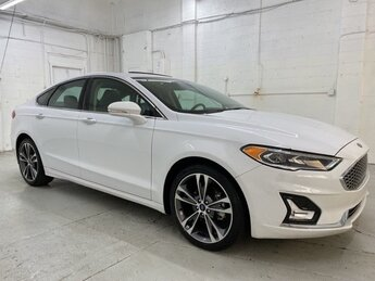2020 Ford Fusion Titanium AWD Automatic Car EcoBoost 2.0L I4 GTDi DOHC Turbocharged VCT Engine