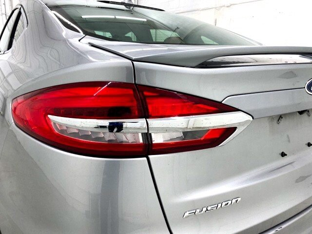 2020 Iconic Silver Metallic Ford Fusion Titanium FWD EcoBoost 2.0L I4 GTDi DOHC Turbocharged VCT Engine 4 Door