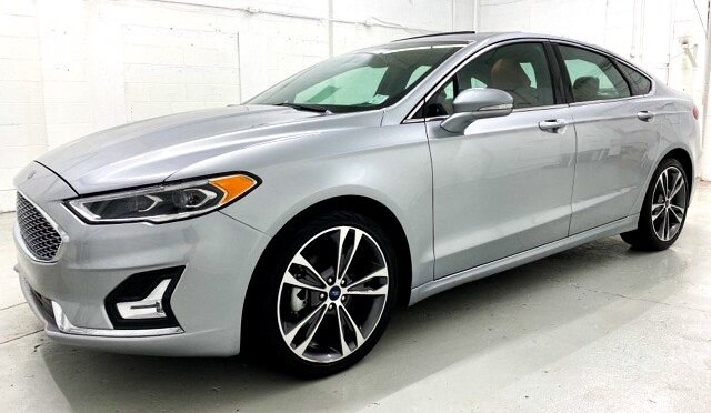 2020 Ford Fusion Titanium EcoBoost 2.0L I4 GTDi DOHC Turbocharged VCT Engine 4 Door Car Automatic FWD