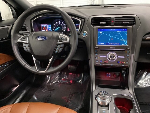 2020 Ford Fusion Titanium Car FWD 4 Door EcoBoost 2.0L I4 GTDi DOHC Turbocharged VCT Engine Automatic