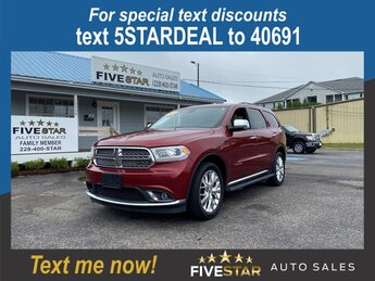 2014 Dodge Durango Citadel 4 Door AWD Automatic 5.7l V8 MPI Hemi 5.7l Engine SUV