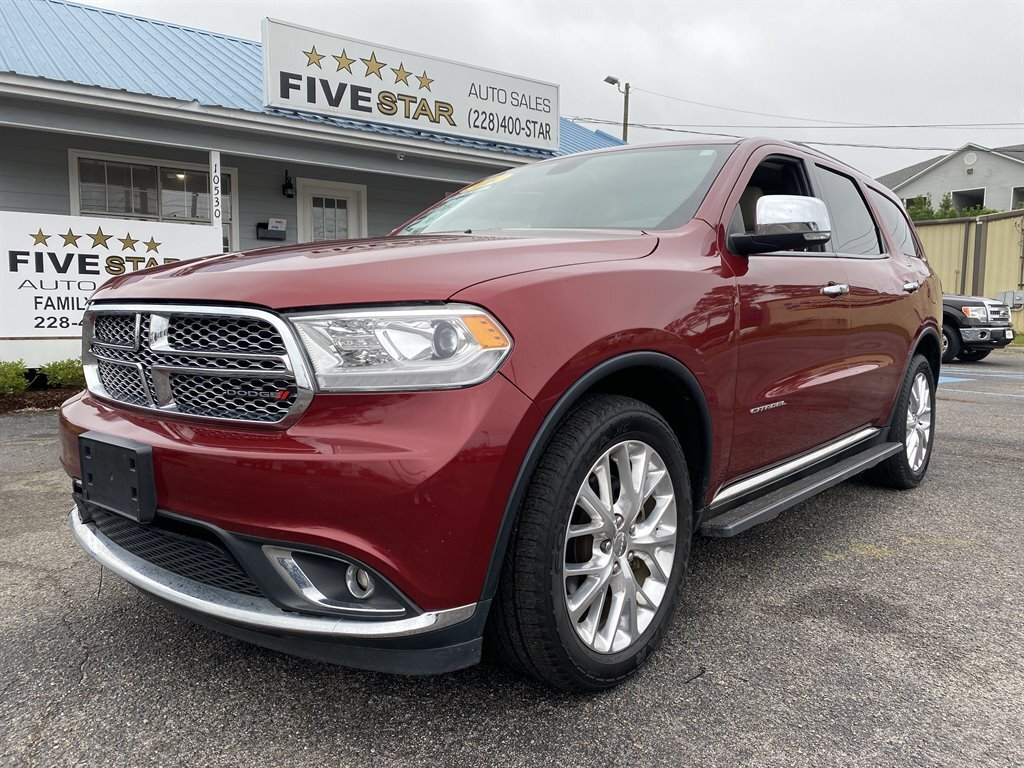 2014 Dodge Durango Citadel AWD Automatic 5.7l V8 MPI Hemi 5.7l Engine 4 Door SUV