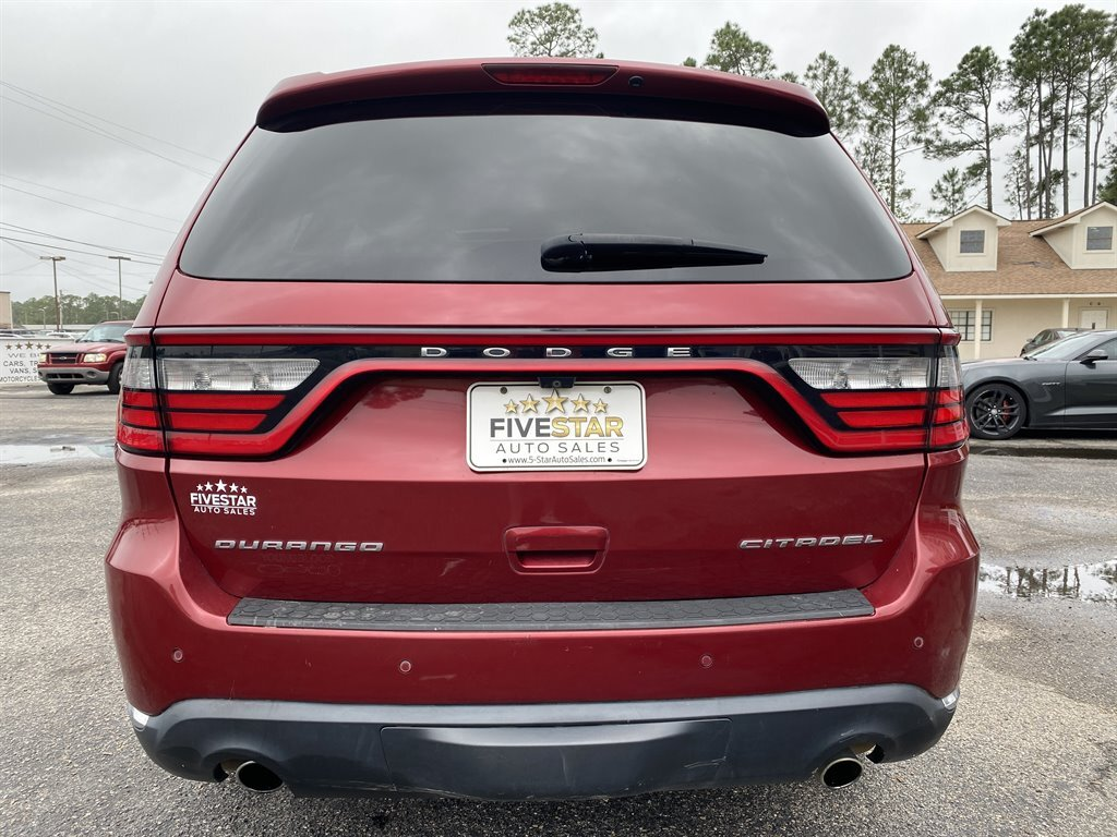 2014 Deep Cherry Red Crystal Pearlcoat Dodge Durango Citadel AWD 4 Door SUV 5.7l V8 MPI Hemi 5.7l Engine Automatic