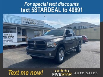 2014 Ram 1500 Express 5.7l V8 Smpi Hemi 5.7l Engine Automatic 4 Door Truck 4X4